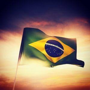 Bandera Brasil sede productos hinode