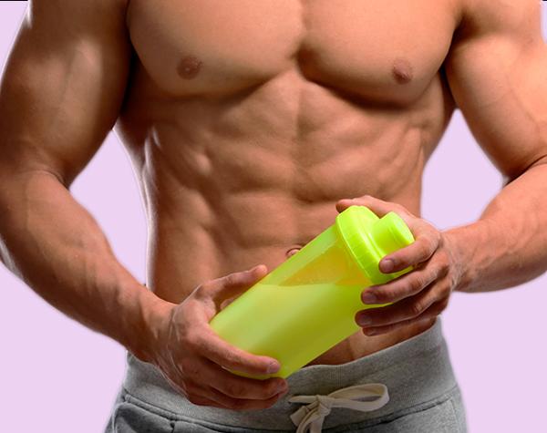 Musculoso con HIBER SHAKE